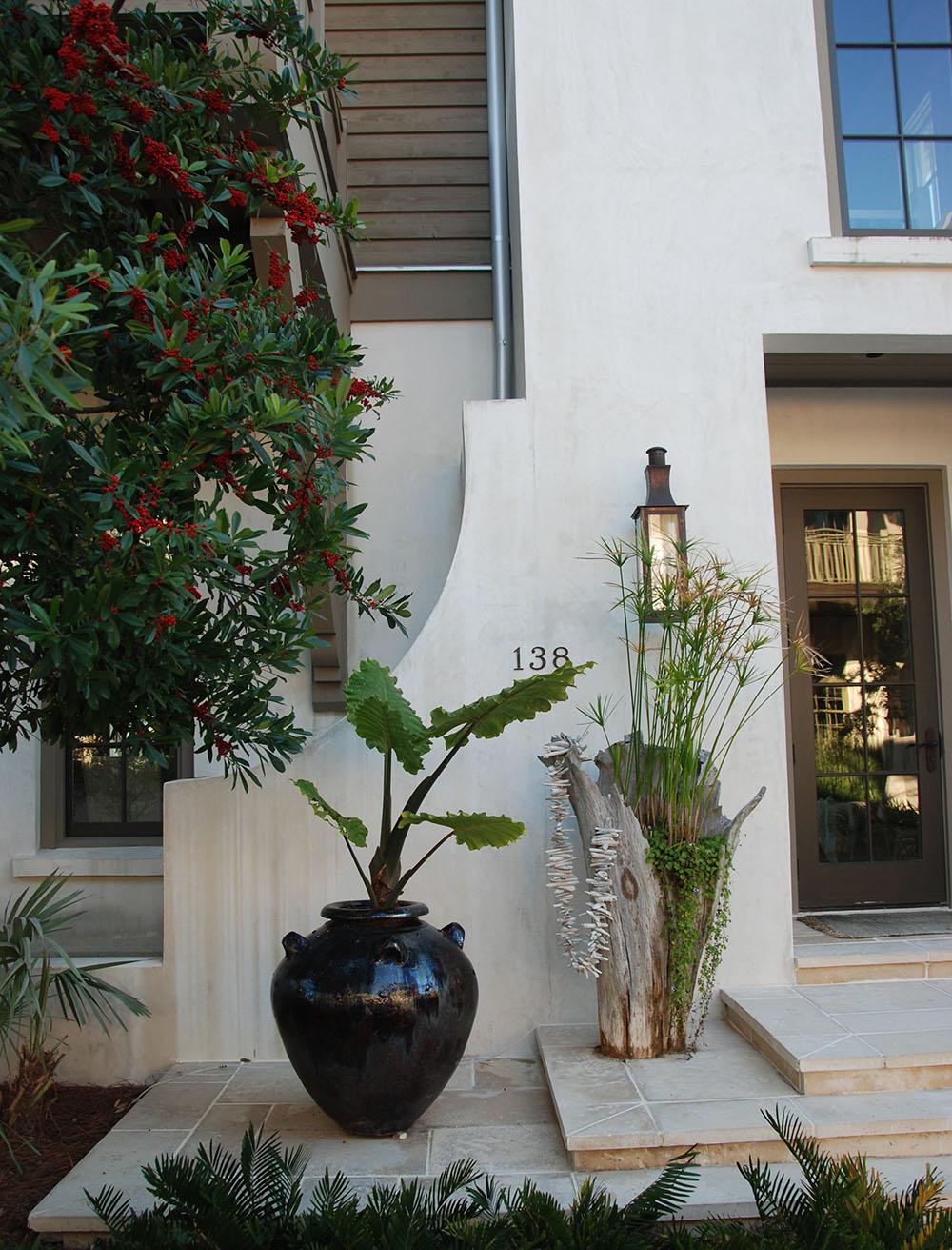 McNamara-Rosemary Beach-West Water House-Exterior Entry-2
