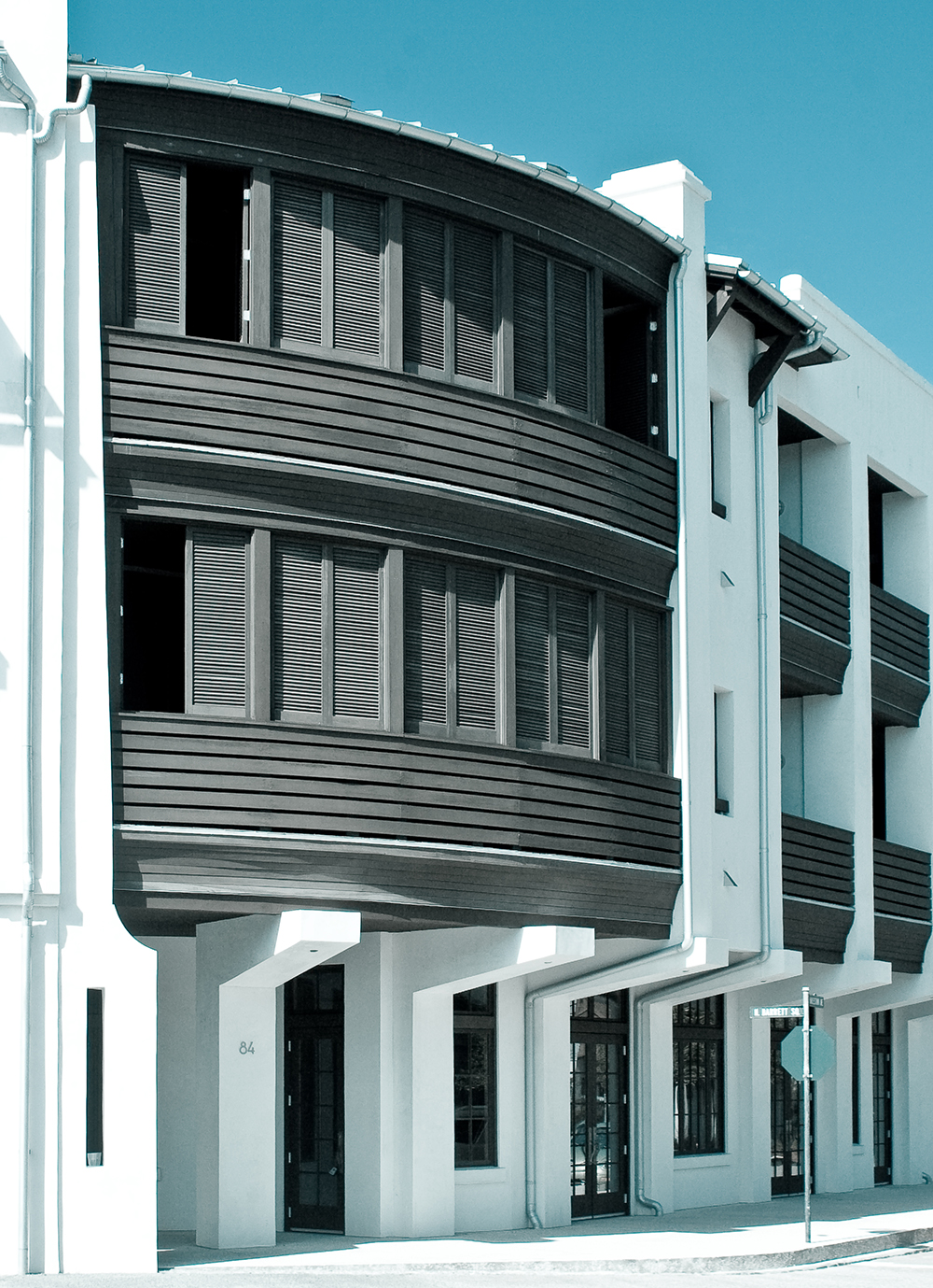 McNamara-Rosemary Beach-Tabby Lofts-Exterior-Shutters