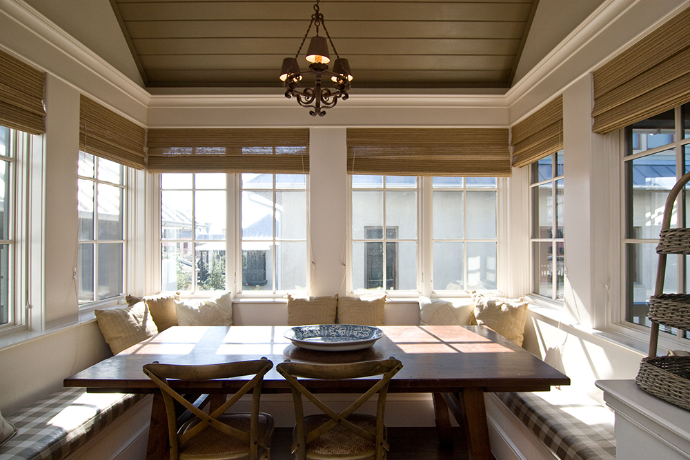 McNamara-Rosemary Beach House-New Providence Lane-Interiors-Banquette