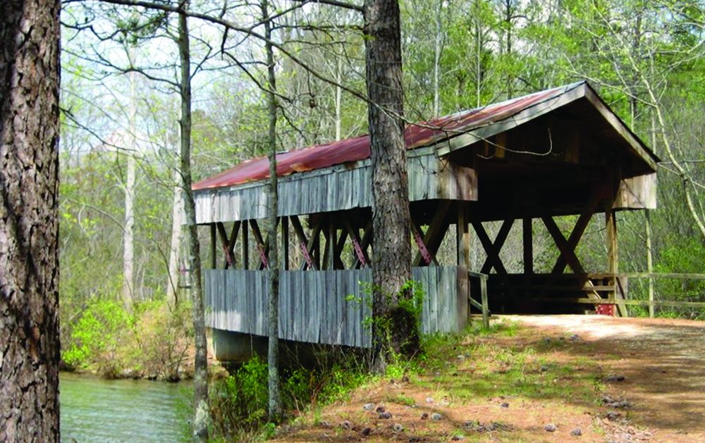 McNamara-Saunders Bridge Planning-Covered Bridge